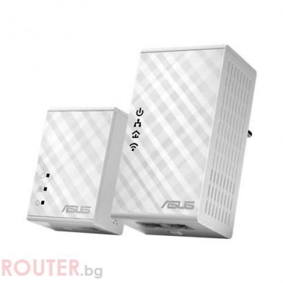 Мрежово устройство ASUS PowerLine PL-N12 AV 500Mbps 2 бр.