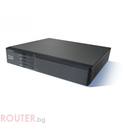 Рутер CISCO 867VAE Secure router with VDSL2