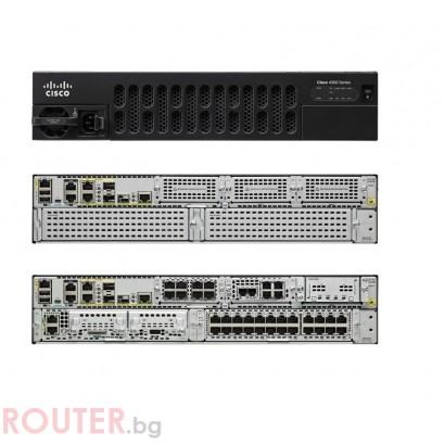 Рутер CISCO ISR 4351 (3GE, 3NIM, 2SM, 4G FLASH, 4G DRAM, IPB)