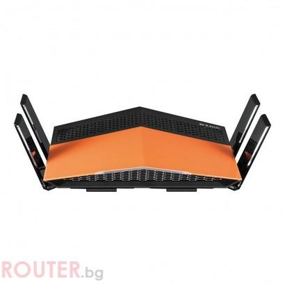 Безжичен рутер D-LINK DIR-879, Двубандов AC1900, Gigabit