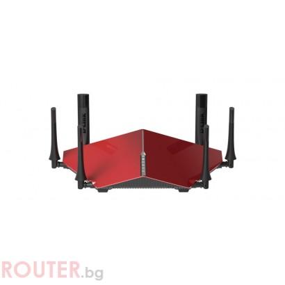 Безжичен рутер D-LINK DIR-890L, Двубандов AC3200, Gigabit