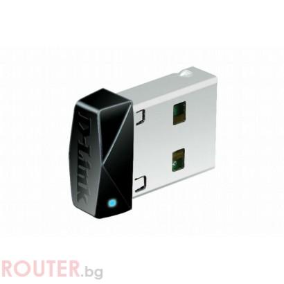 Мрежово устройство D-LINK Wireless N 150 Micro USB Adapter