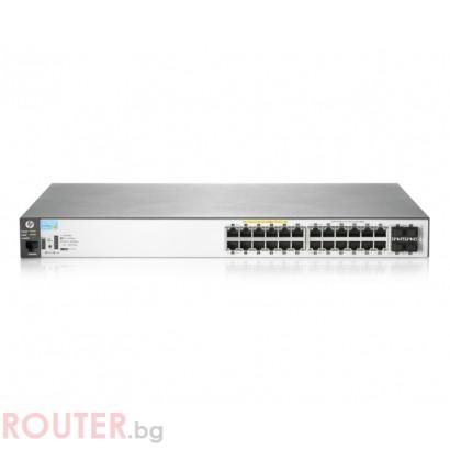 Мрежов суич HP Aruba 2530 24G PoE+ Switch