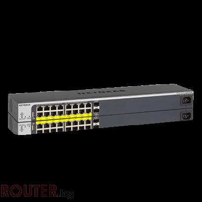 Мрежов суич NETGEAR GS510TPP Gigabit