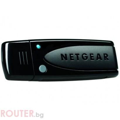 Безжична мрежова карта NETGEAR N600 WiFi Dual Band USB