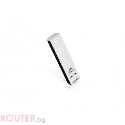 Безжична мрежова карта TP-LINK TL-WN821N N USB адаптер 300 mbit