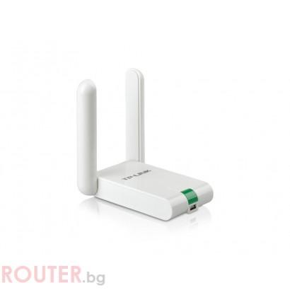 Безжична мрежова карта TP-LINK TL-WN822N безжичен N USB адаптер