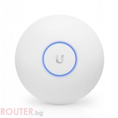 Мрежова точка за достъп Ubiquiti UniFi AP AC Long Range, PoE Poweчервен 183m
