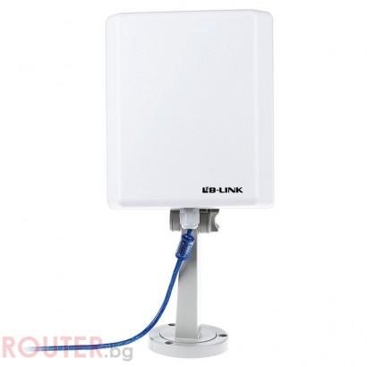 Адаптер Wireless USB Outdoor LAN LB-Link BL-WN1140AH 150Mbps14dBi
