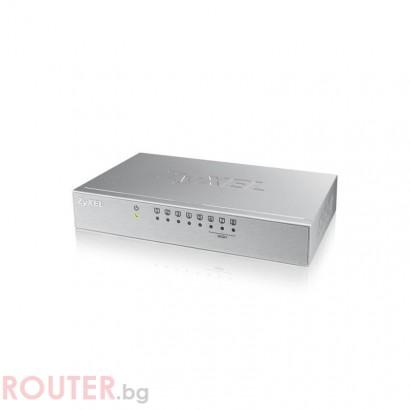 Суич ZYXEL ES-108A v3, 8 портов, 10/100Mbps