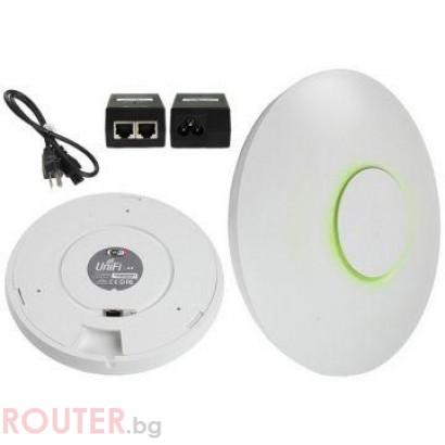 Access Point UniFi UAP-LR 2.4GHz 300Mbit 27dBm PoE+, вътр. монтаж