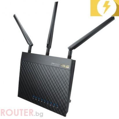 Безжичен рутер ASUS RT-AC66U, Двубандов Gigabit