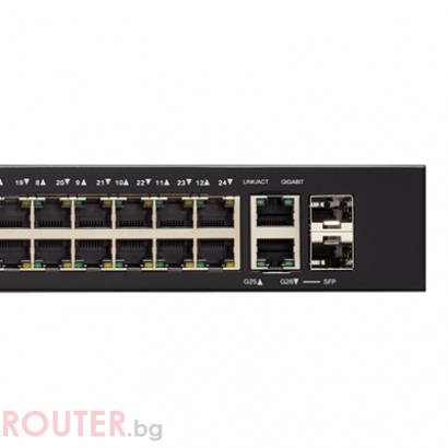 CISCO SG250-26P 26-port Gigabit PoE