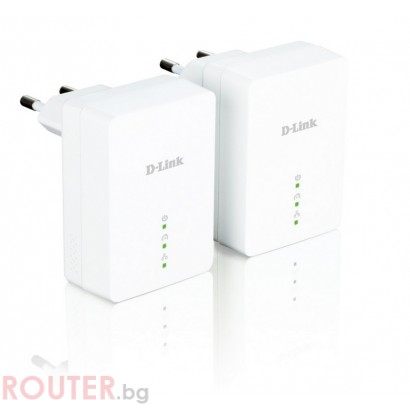 D-LINK Powerline AV Mini Easy Starter Kit
