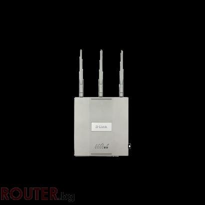 Мрежова точка за достъп D-LINK Wireless AC1750 Simultaneous Dual-Band PoE Access Point