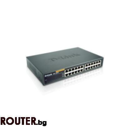 Мрежов суич D-Link DES-1024D 24-Port