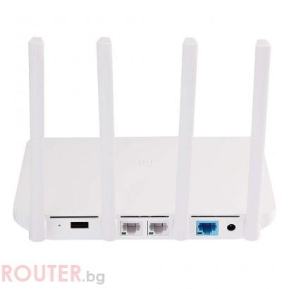 Безжичен рутер Xiaomi Mi Router 3 Dualband AC1200
