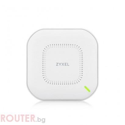 Безжична точка за достъп ZYXEL NWA110AX, 802.11ax Wi-Fi 6 AP с вкл. захранване, Unified AP