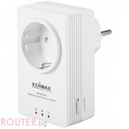 Мрежово устройство EDIMAX HP-5101ACK Home Plug 500M power line adapter
