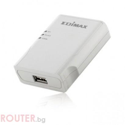 Принт сървър EDIMAX PS-1206MF с 1 USB порт