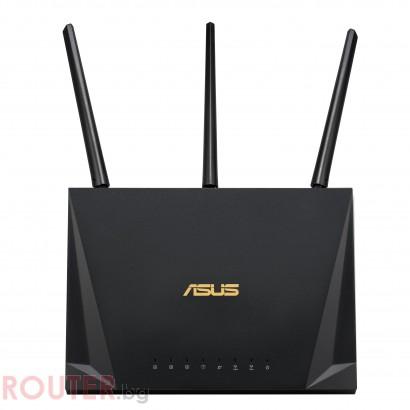 Безжичен рутер ASUS RT-AC85P Gaming Dual Band AC2400 Gigabit Triple 1700 MU-MIMO, 1 x USB 3.1