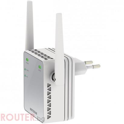 Мрежова точка за достъп NETGEAR EX2700 N300 WiFi Range Extender