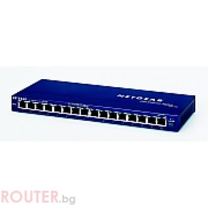 Мрежов суич NETGEAR FS116