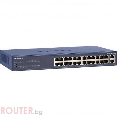 Мрежов суич NETGEAR FS526Tv2