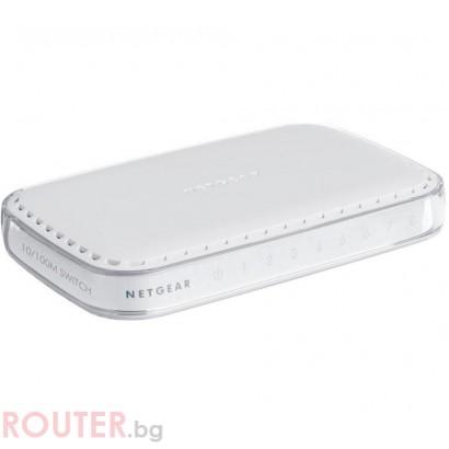Мрежов суич NETGEAR FS608-300PES