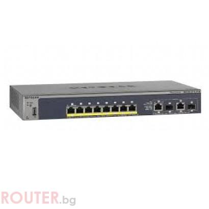 Мрежов суич NETGEAR M4100-D10-POE 8-Port
