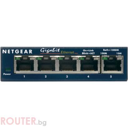 Мрежов суич NETGEAR 5-Port