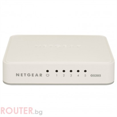 Мрежов суич NETGEAR 5 Port Gigabit Switch