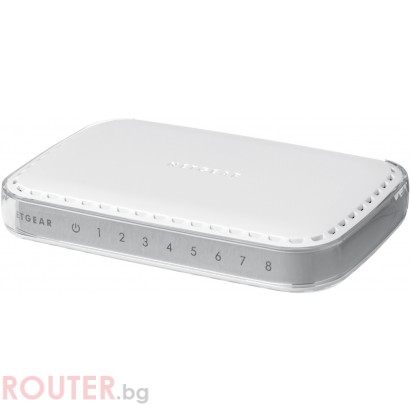 Мрежов суич Netgear GS608v4  8-port