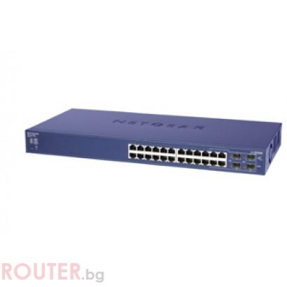Мрежов суич NETGEAR 24-Port