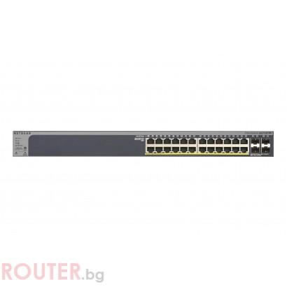 Мрежов суич NETGEAR GS724TPP