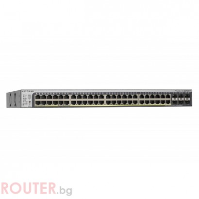 Мрежов суич NETGEAR 52-port Stackable Smart Switch