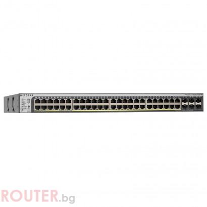 Мрежов суич NETGEAR GS752TSB 52 port