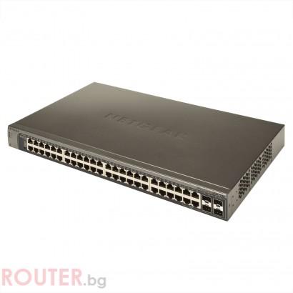 Мрежов суич NETGEAR Bundle GSM7248-200EUS + 2 x AGM731F