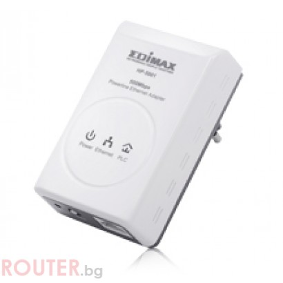 Мрежово устройство EDIMAX HP-5001 - Home Plug 500M power line адаптер