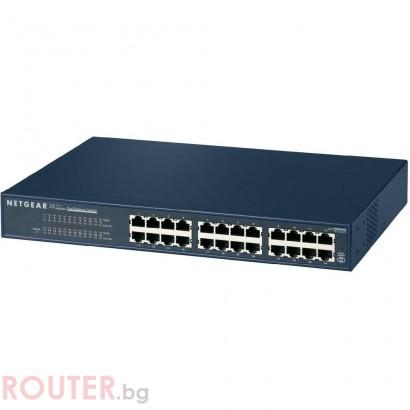 Мрежов суич NETGEAR JFS524, 24 port