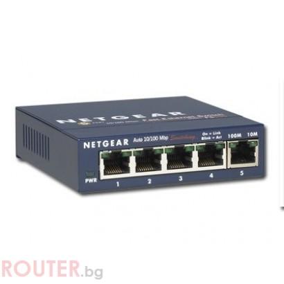 LAN Switch  NETGEAR FS105IS