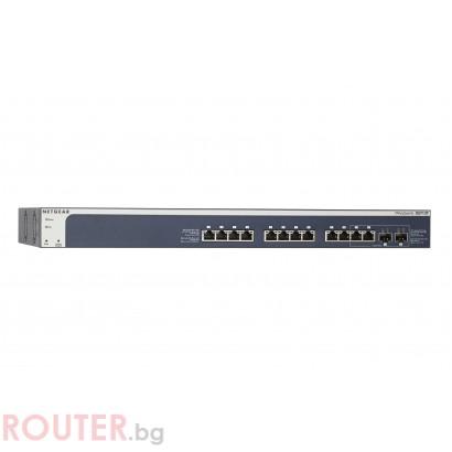 Мрежов суич NETGEAR XS712T, 12 port