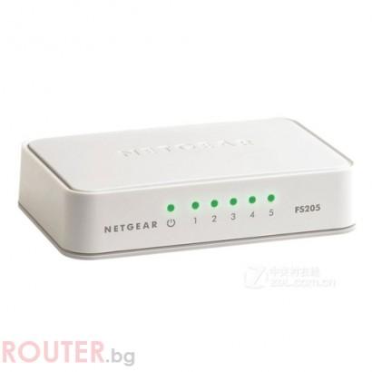 LAN Switch NETGEAR FS205-100PES