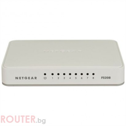 LAN Switch NETGEAR FS208-100PES