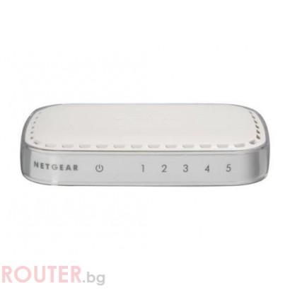 NETGEAR FS605NAR 5 port 10/100