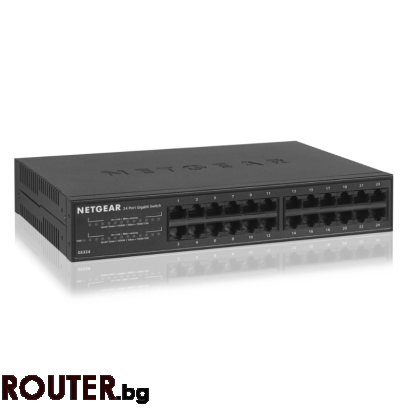 Мрежов суич NETGEAR GS324 16 port