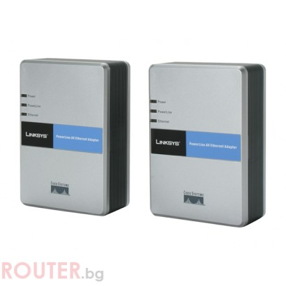 Powerline адаптер LINKSYS PLK200