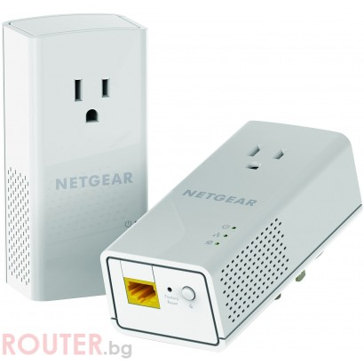 Адаптер Netgear PLP1200 POWERLINE AC1200