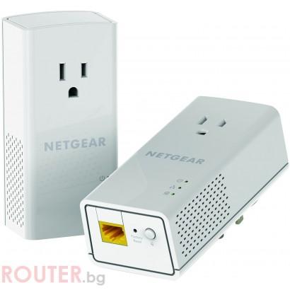 Адаптер Netgear PLP1200 POWERLINE AC1200