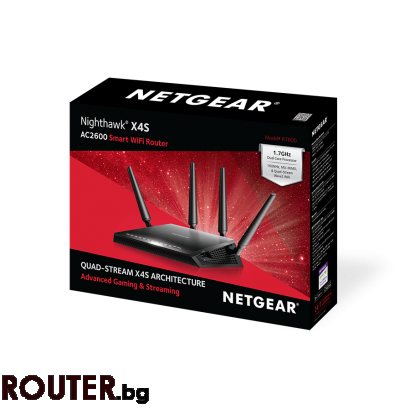 Рутер Netgear R7800 Nighthawk X4S Smart WiFi Gaming 4PT AC2600